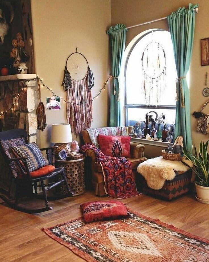 36 Charming Living Room Ideas: 50 Charming Ideas For Boho Lifestyle