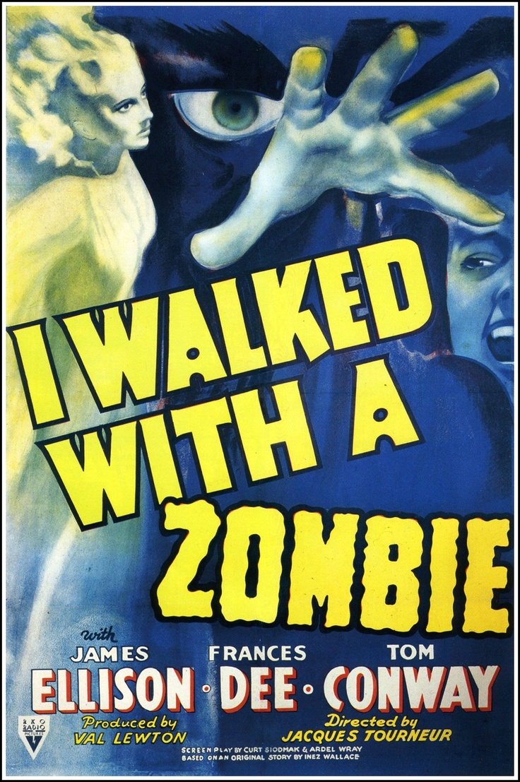 I Walked With A Zombie 1943 Val Lewton
