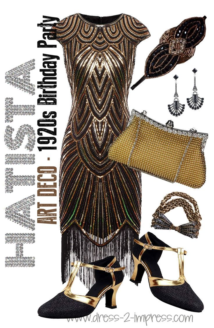 Black Gold Gatsby Outfit Inspiration What To Wear To A Great