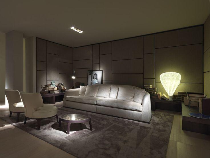 alfred sofa drop armchairs u0026 eaton side table designs by roberto lazzeroni for flexform mood - Sofa Side Table
