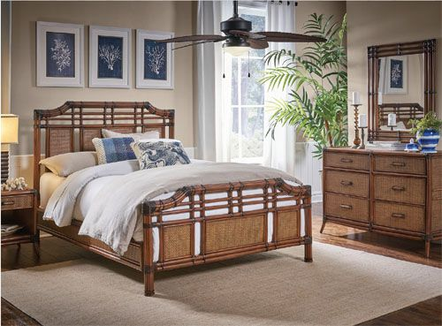 Palm Cove Wicker Bedroom Suite from Hospitality Rattan | Hospitality Rattan