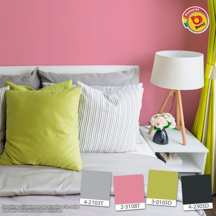 Destaca tu personalidad con los colores que pinturas berel for Colores pintura pared
