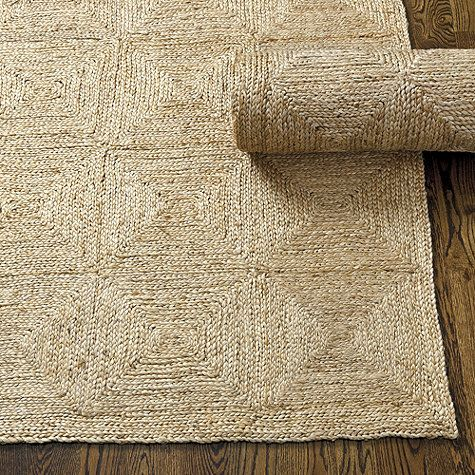 I really like this rug -- can we put two together for living room? Bali Jute Rug