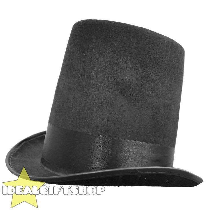 STOVEPIPE TOP HAT VICTORIAN FANCY DRESS SCROOGE MURDER THEME OUTFIT PARTY  | eBay