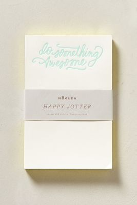 Moglea Happy Jotter Notepad  http://rstyle.me/~14HPd