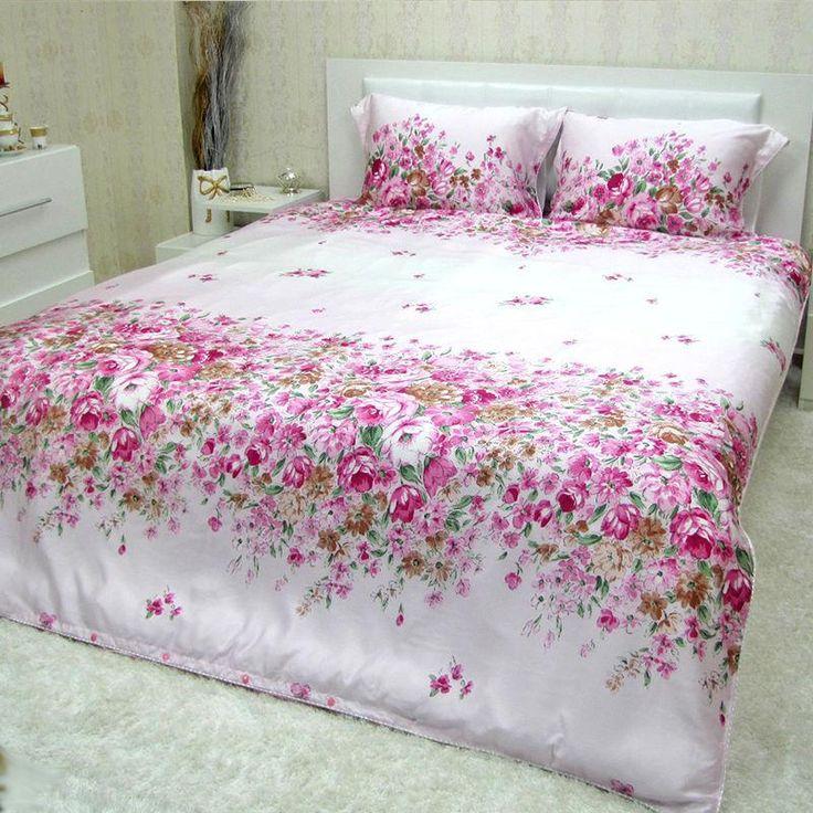 Completo lenzuola matrimoniale copripiumino di Tencel® *Ofelia*