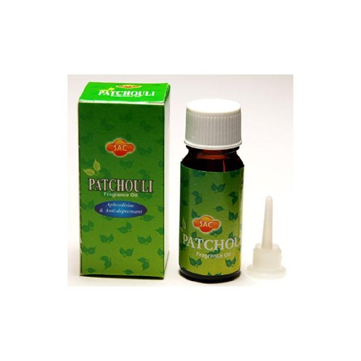 """Geurolie """"PATCHOULI"""" Top-kwaliteit patchouli geurolie uit India. Geschikt voor in de aromalamp, maar sommige mensen dragen het ook op kleding of de huid als natuurlijk parfum."""