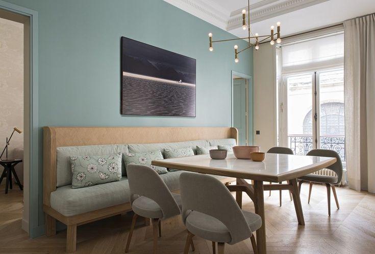 die besten 25 esstisch bank ideen auf pinterest bank. Black Bedroom Furniture Sets. Home Design Ideas