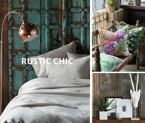 Rustic design is the latest trend in home décor. Done right, it's timeless and refreshing. What are your thoughts on this décor style? Love it or make it stop? #decor #trends #LoadsofLiving