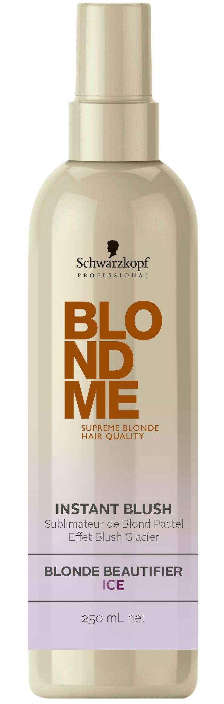 schwarzkopf professional blondme instant blush ice 250ml - Coloration Blond Me Schwarzkopf