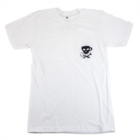 Espresso Parts POCKET Tee with Jolly Roger