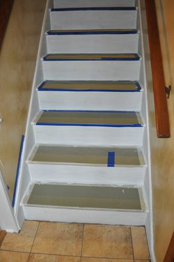 A Carpet To Hardwood #staircase Transition Is Easier (and Cheaper) Than