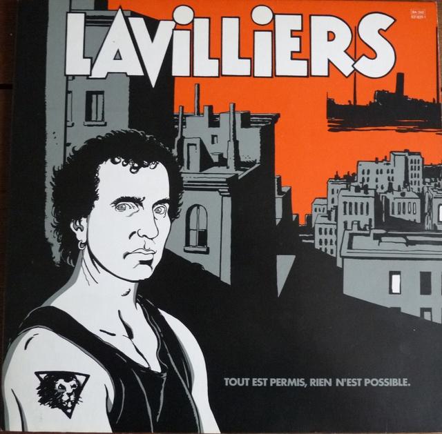 Jean Tardi / Bernard Lavilliers : Tout est permis, rien n'est possible (33 tours, Barclay, 1984)