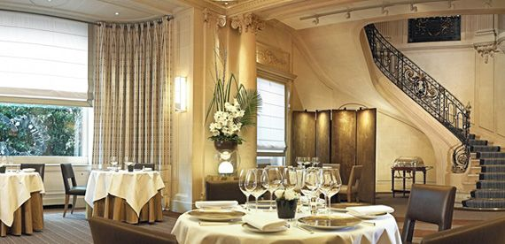 was thinking of paris and can't ever forget our visit to taillevent. most amazing food!