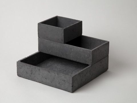BRUTALIST STACK BOX: SET OF 3 by Chen Chen and Kai Williams