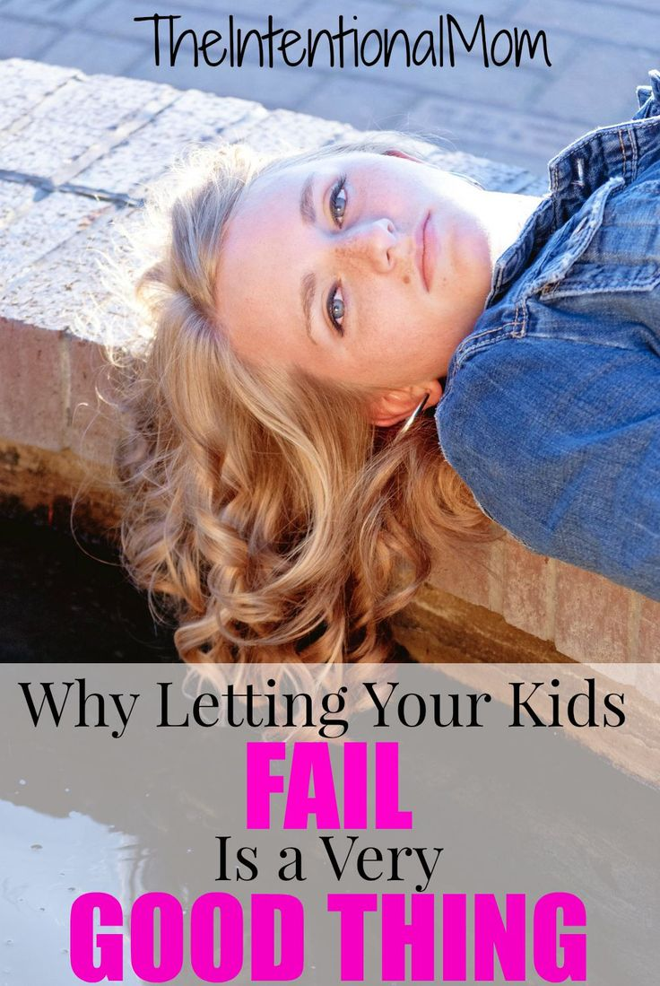 It can be hard to watch our kids fail, but it is an important part of being a parent at times. Read WHY and the role YOU can play in your kids' failures to make them a POSITIVE experience.