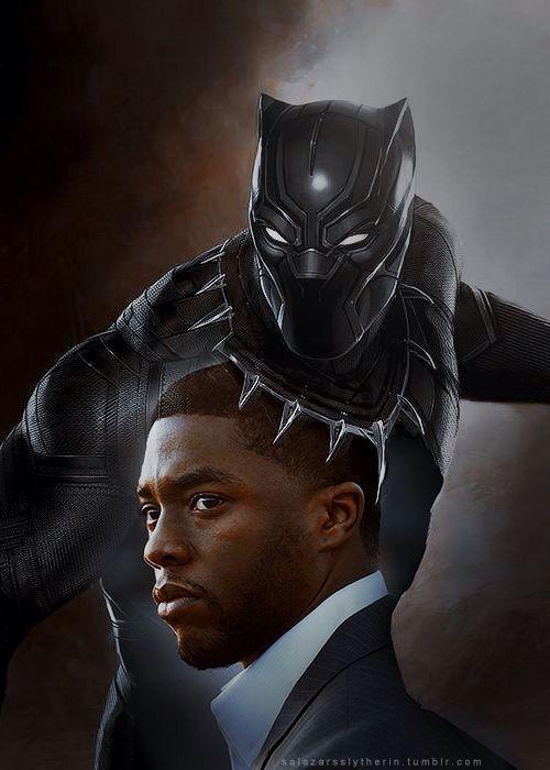 Chadwick Boseman - T'challa / Black Panther (Capt. America : Civil War, Black Panther movie)