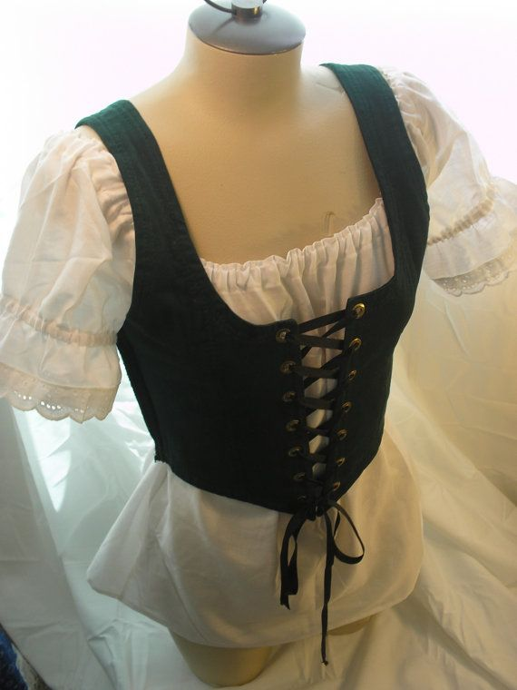 Lovely Romantic Renaissance Women Chemise Shirt Theatrical Dance Weddings Parties Wench Pirate Villager