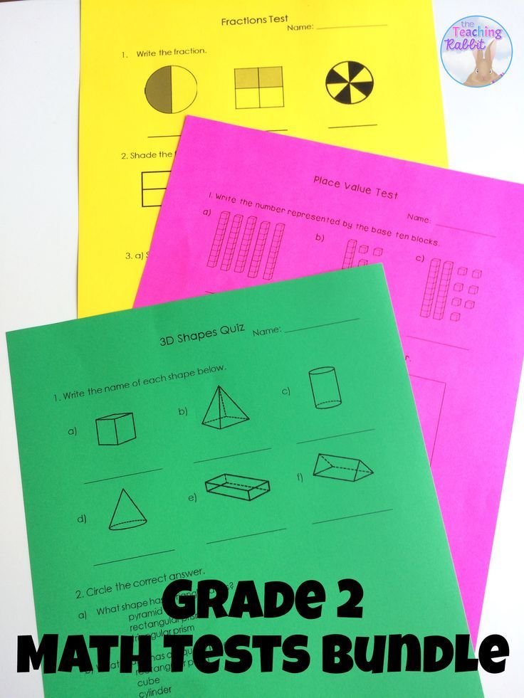 These Grade 2 math tests (with answer keys) based on the Ontario Curriculum Expectations can make assessment time easier! There are currently 14 tests in the package.