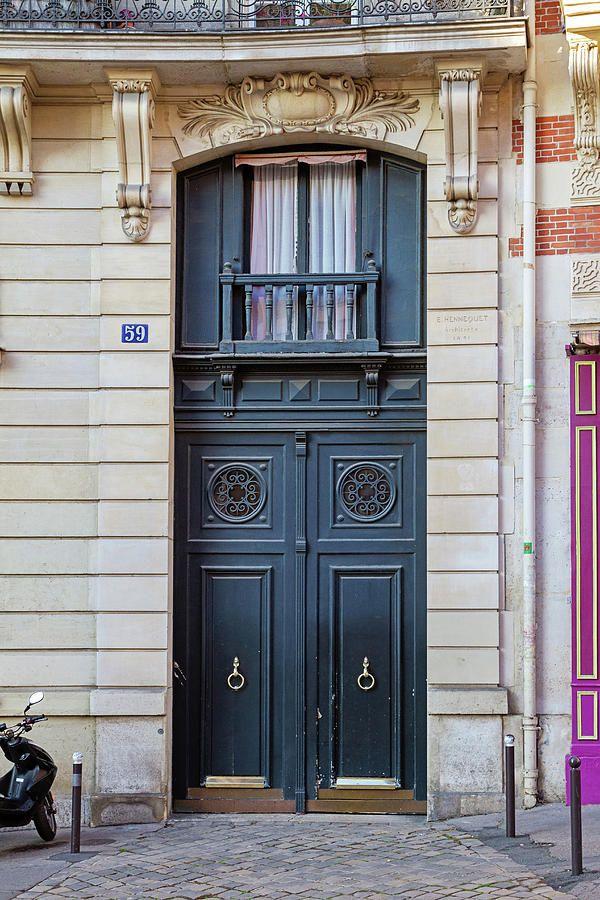 Classic #Paris Doors #DoorPhotography
