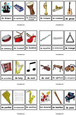 Thema muziek » Juf Sanne