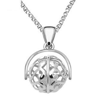 Silver Ball  Spin a Wish  Pendant - BEE-33556