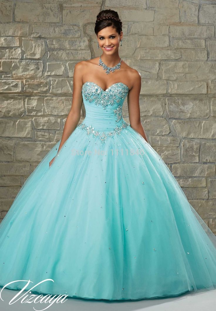 17 Best ideas about Turquoise Quinceanera Dresses on Pinterest ...