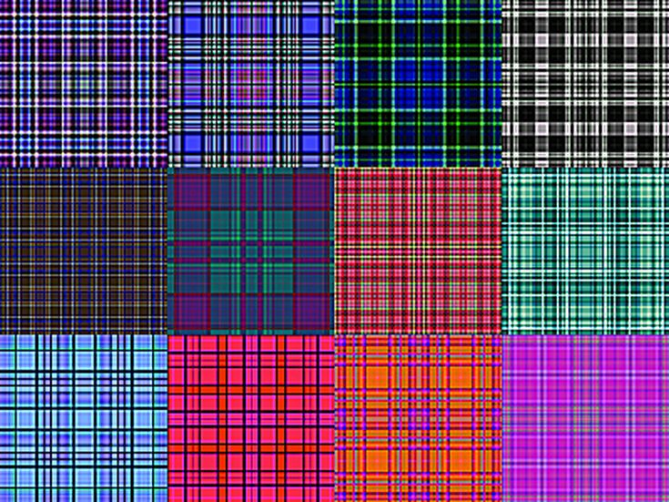 Free Plaid Patterns for Photoshop by Shelby Kate Schmitz: Plaid Patterns Set 6