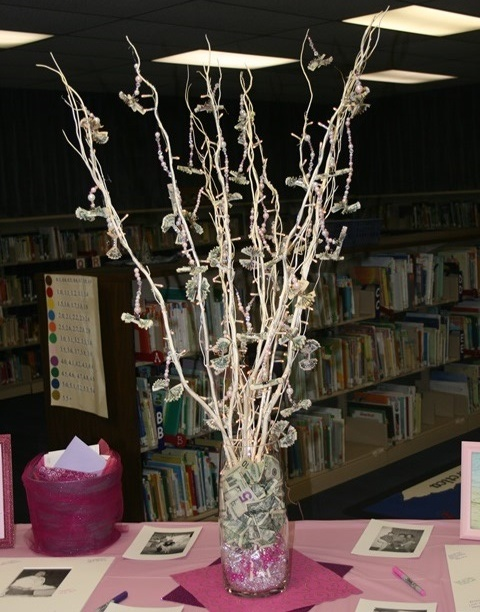 26 best money trees images on pinterest money trees marriage money tree made this for a retirement party pre lit branches from kirklands negle Image collections