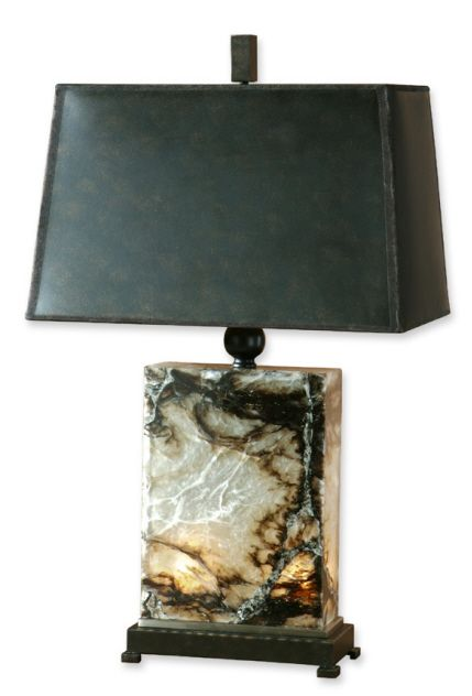 Living Earth Marble Table Lamp DesignNashville.com  Transitional LIghting Collection