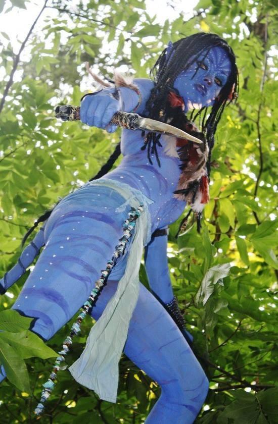 Neytiri (Avatar) cosplay by UndercoverEnvy