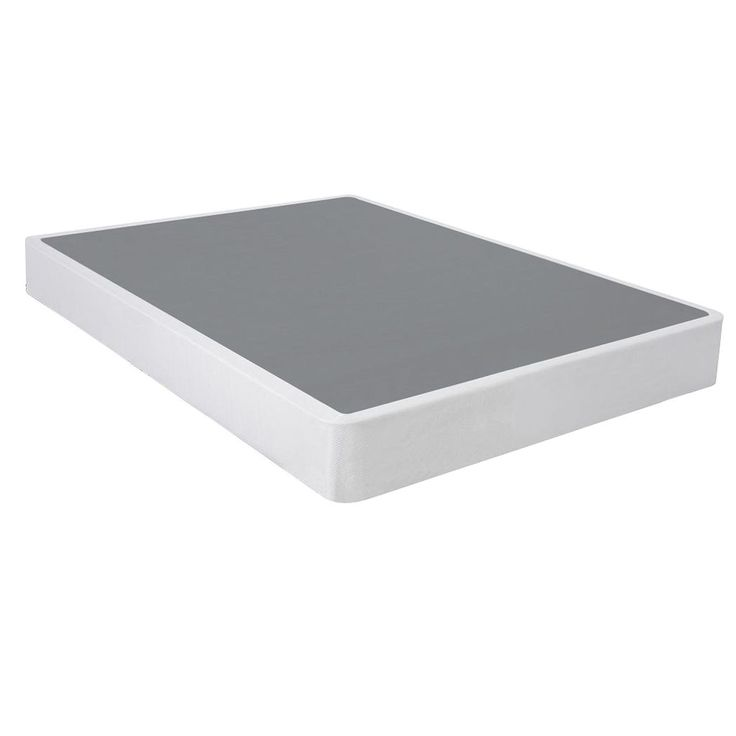 spinal solution steel silver box spring queen - Box Spring Mattress