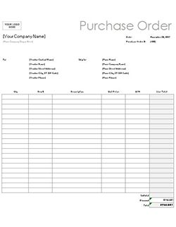Free Purchase Order Template & Instructions: How to Create a Purchase Order
