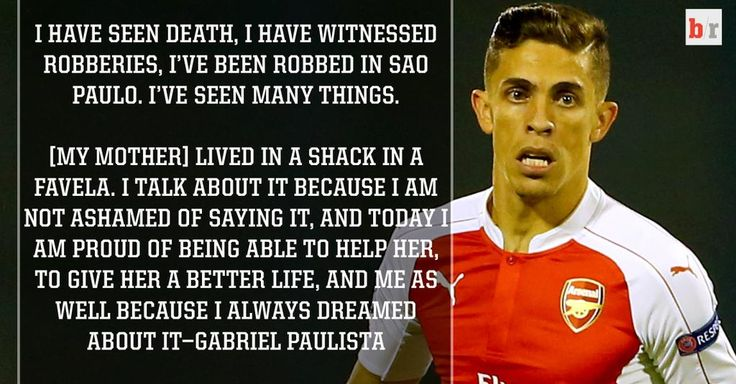 Gabriel Paulista reveals tough childhood, pride in being able to give his mum better life http://ble.ac/1MnVdli