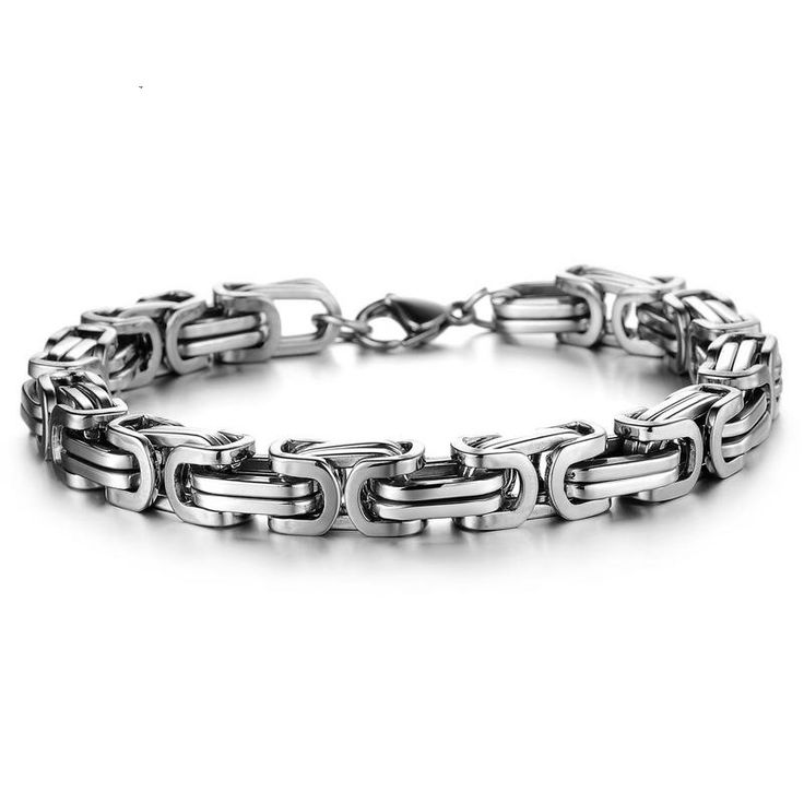 Brand new high-quality stainless steel chain bracelet, fashion casual casual boy, stainless steel jewelry, simple design jewelry