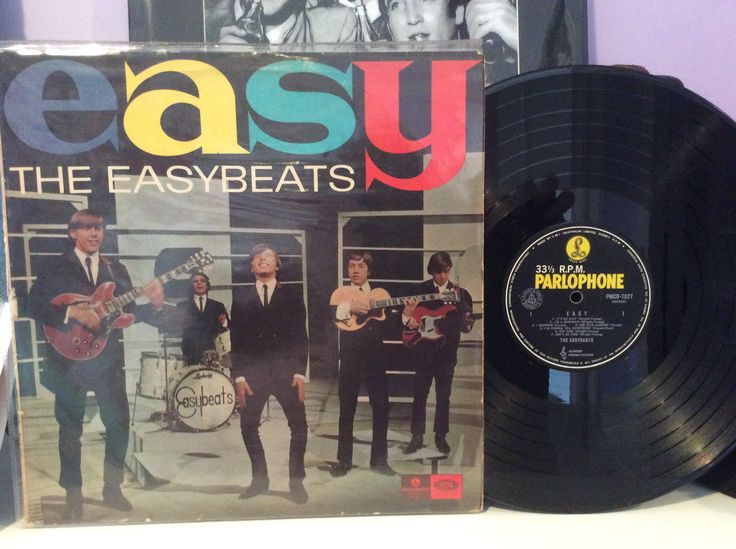 Easy - debut album by the Easybeats - 1965. Parlophone PMCO - 7527