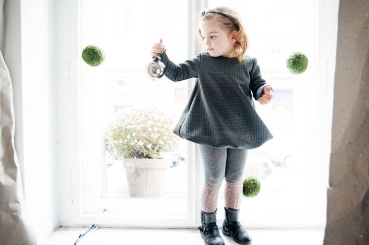 Dusty bubble dress  #pinkwings