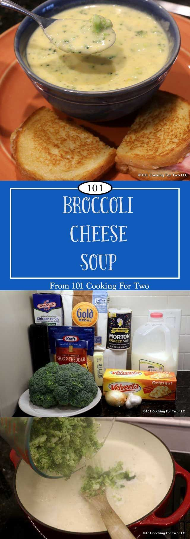 One pot, one hour, one great soup. And oh so easy. Better than restaurant quality broccoli cheese soup for your family or company. via @drdan101cft