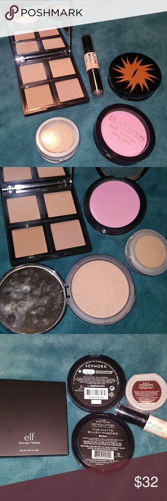 Bronze Beauty Makeup Bundle Elf bronzer palette, Bronzer