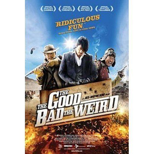 The Good Bad and The Weird DVD Kang-ho Song asian western comedy 2013