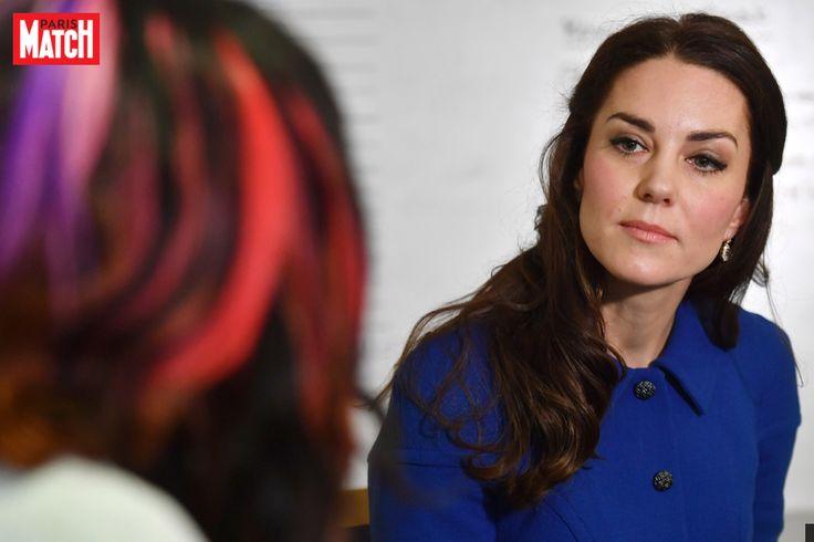 Kate Middleton s'est rendue à son premier rendez-vous officiel de l'année, en visitant le Anna Freud Center à Londres.