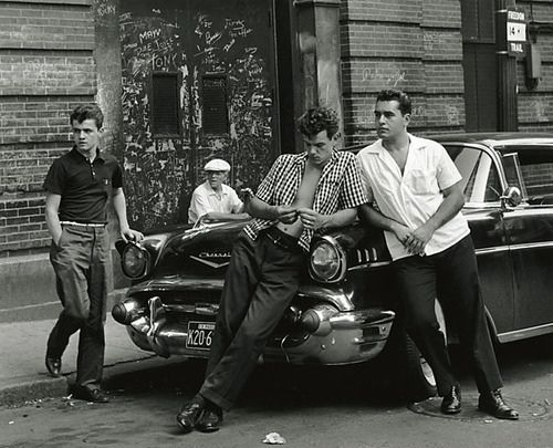 1950s Street Gang, via Flickr.