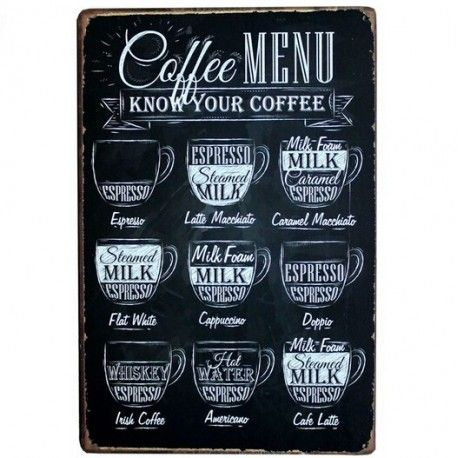#coffee #menu