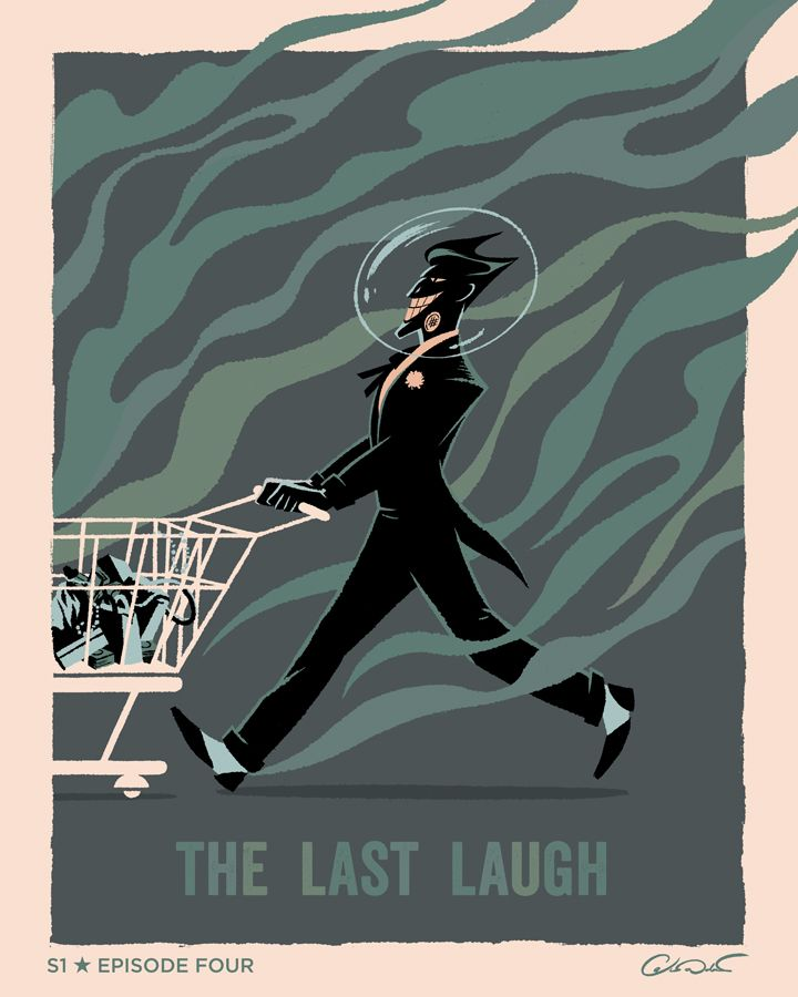 "Batman: The Animated Series Episode 4 ""The Last Laugh"" - George Caltsoudas"