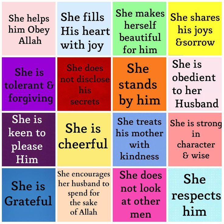 The role of the muslim wife. Something to learn for whenever I get married, Insha'Allah!