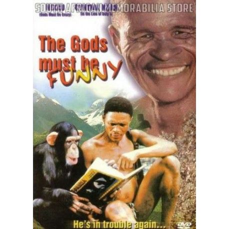 Jamie Uys - Gods Must Be Funny Crazy South African Comedy DVD *New* - South African Memorabilia Store