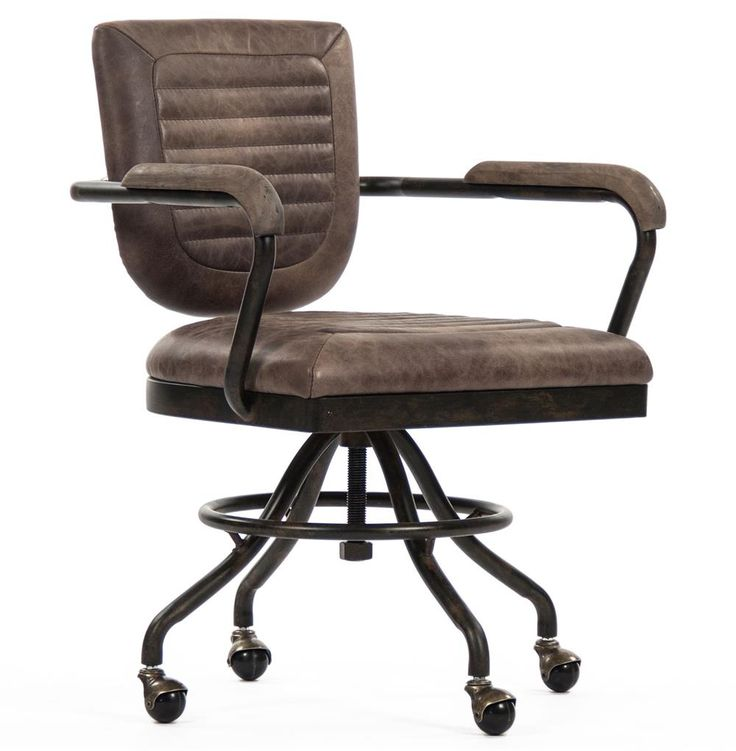 Rustic Office Chair - Custom Home Office Furniture Check more at http://www.drjamesghoodblog.com/rustic-office-chair/
