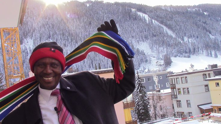 KPMG @ WEF 2015: Moses Kgosana, Chief Executive, KPMG in South Africa, shows his excitement to be representing Africa at the 2015 World Economic Forum in Davos #WEF15