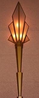 Art Deco Lighting - Wall Sconce - Fox Theater, Tuscon, AZ  Art-Deco-Style.com