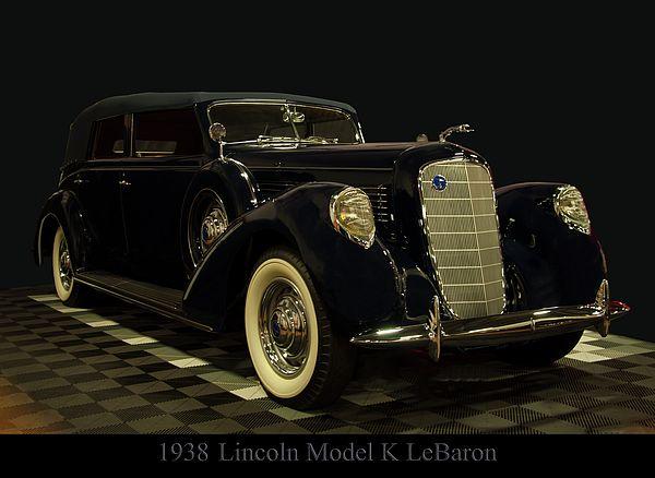 1938 Lincoln Model K Lebaron   – Klassik Autos